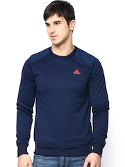 Adidas Men Navy Training Sweatshirt