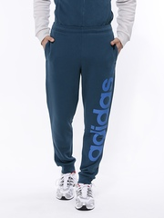 Adidas Men Blue ESS LIN PANT CH Track Pants