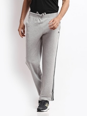 Adidas Men Grey Trackpants