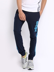 Adidas Men Navy Track Pants
