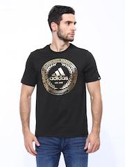 Adidas Men Black Authentic Seal Training T-shirt