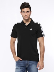 Adidas Men Black ESS 3S POLO T-shirt