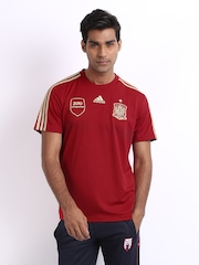 Adidas Men Red Spain Home Jersey