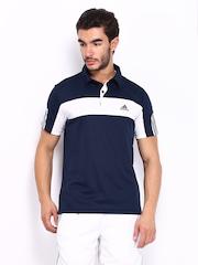 Adidas Men Navy Polo T-shirt