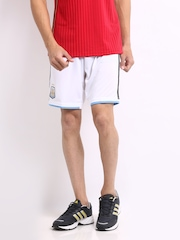 Adidas Men White AFA Shorts
