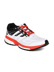 Adidas Men White Response Boost Techfit M Running Shoes