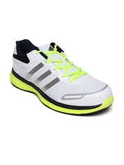 Adidas Men White Zimo Running Shoes