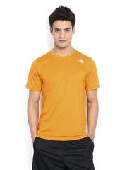 Adidas Men Yellow T-shirt