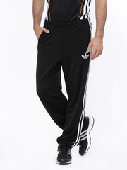 Men Black ADI Firebird TP Track Pants Adidas Originals