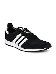 Adidas Originals Men Black Adistar Racer Suede Casual Shoes
