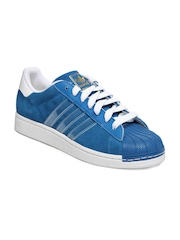 Adidas Originals Men Blue Superstar II IS Casual Shoes