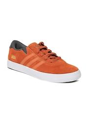 Men Orange Gonz Pro Suede Casual Shoes Adidas Originals