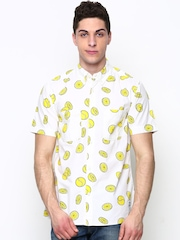 Men Off-White Ballsmon Printed Casual Shirt Adidas Originals