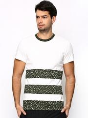 Men White ADV Graphic T-shirt Adidas Originals