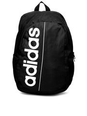 Adidas Unisex Black Linear Ess Backpack