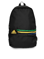Adidas Unisex Black DER BP M 3S Backpack