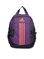 Adidas Kids Purple BP Power II M Backpack