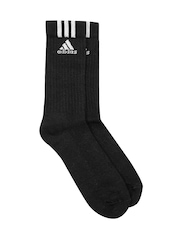 Adidas Unisex Black Socks