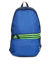 Adidas Unisex Blue DER BP L 3S Backpack