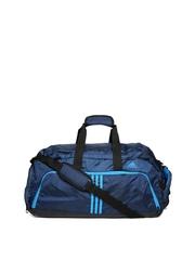 Adidas Unisex Blue Duffle Bag