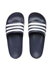 Adidas Unisex Navy Duramo Slide Flip Flops