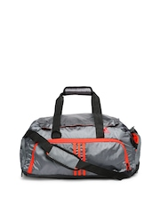 Adidas Unisex Grey Duffle Bag