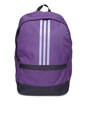 Adidas Unisex Purple Versatile 3S Backpack