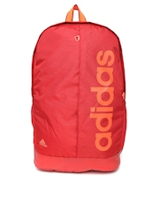 Adidas Unisex Red Backpack