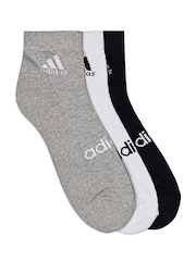 Adidas Unisex Set of 3 Socks