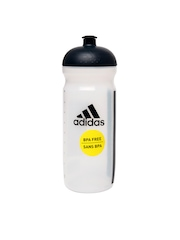 Adidas Unisex Transparent Water Bottle