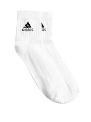 Adidas Unisex White Socks