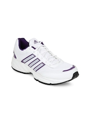 Adidas Women Alcor White & Purple Sports Shoes