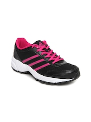 Adidas Women Black & Pink Yago W Sports Shoes