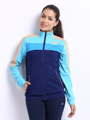 Adidas Women Blue Jacket
