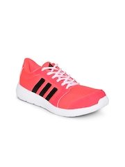 Adidas Women Neon Pink Hellion W Running Shoes