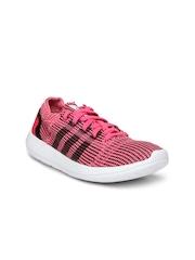 Adidas Women Pink & Black Element Refine Tricot Sports Shoes