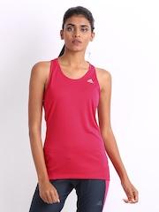 Adidas Women Pink Tank Top
