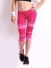 Adidas Women Pink Tights