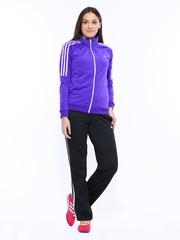 Adidas Women Purple & Black Training FRIEDA Suit