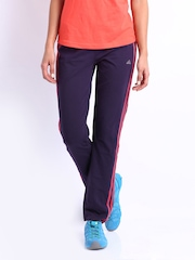 Adidas Women Purple Track Pants