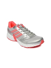 Adidas Women Grey & Silver Toned Ogin Sports Shoes