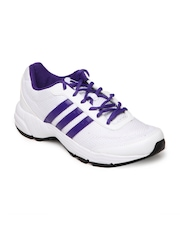 Adidas Women White Phantom Running Shoes