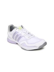 Adidas Women White Sumbrah III Sports Shoes