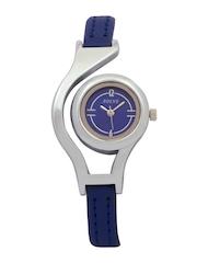 Adine Women Blue Dial Watch