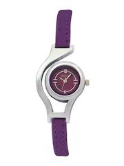 Adine Women Purple Dial Watch