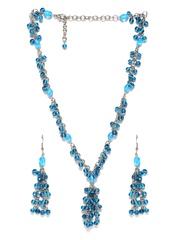 Adrika Blue Jewellery Set