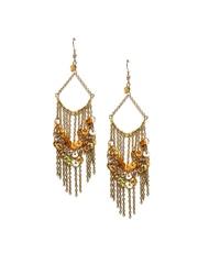 Adrika Gold-Toned Drop Earrings
