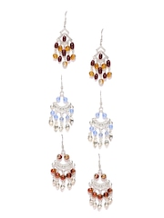 Adrika Set of 3 Drop Earrings