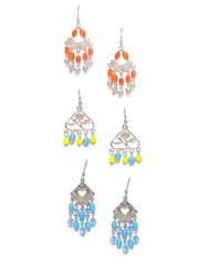 Adrika Set of 3 Drop Earrings
