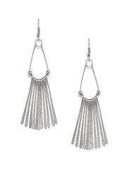 Adrika Silver-Toned Drop Earrings